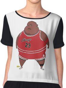 Fat-Jordan Chiffon Top