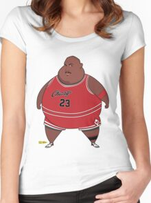 Fat-Jordan Women's Fitted Scoop T-Shirt