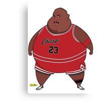 Fat-Jordan Canvas Print