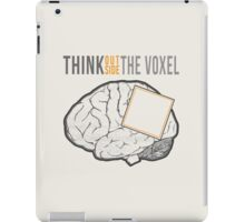 Think Outside the Voxel iPad Case/Skin