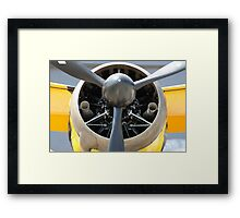 Bristol Mercury XX(X) 870 hp engine and propeller of Army Co-operation single engine Westland Lysander III aircraft. Framed Print