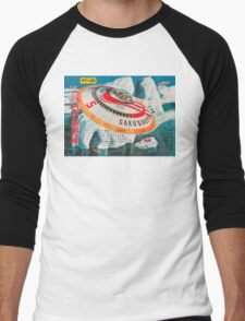 Retro Japanese Future Men's Baseball ¾ T-Shirt