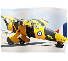 Army Co-operation single engine Westland Lysander III aircraft. Poster