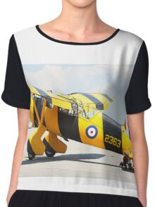 Army Co-operation single engine Westland Lysander III aircraft. Chiffon Top