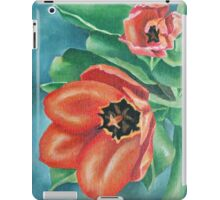 Red Tulips Painting iPad Case/Skin