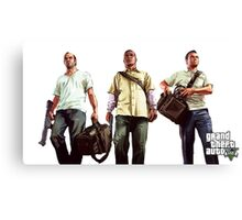 Gta 5 Characters Canvas Print