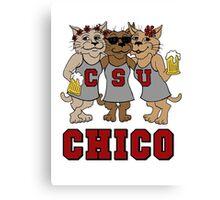 CSU CHICO - Wildcats Canvas Print