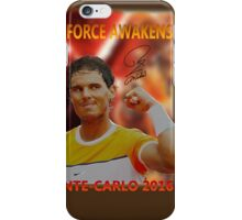 Nadal's force awakens iPhone Case/Skin