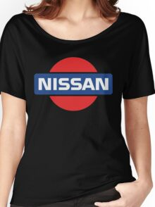 Retro Nissan Logo Women's Relaxed Fit T-Shirt