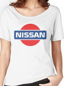 Retro Nissan Logo Women's Relaxed Fit T-Shirt