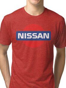 Retro Nissan Logo Tri-blend T-Shirt