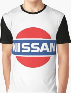 Retro Nissan Logo Graphic T-Shirt
