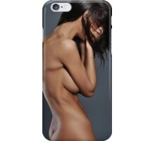sexy nude erotic glamour girl model 9 iPhone Case/Skin