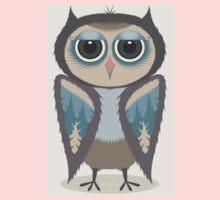 FEATHERED OWL Kids Tee