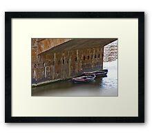 Snug Harbor Framed Print