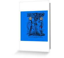 Adam and Eve IV Greeting Card