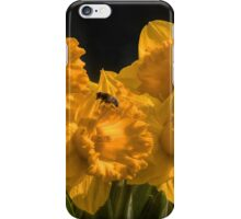 Spring .... flowers and bees iPhone Case/Skin