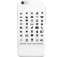 Travel Icon iPhone Case/Skin