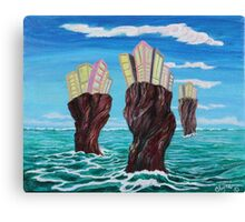 Three Cities Inside the Reef Canvas Print