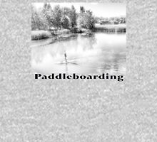 Paddleboarding girl on a lake Women's Relaxed Fit T-Shirt