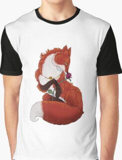 Pei The Fox Graphic T-Shirt