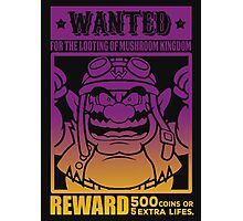Wanted 02 Photographic Print