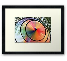 Wind Wheel Framed Print