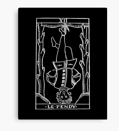 The Hanged Man in Reverse Canvas Print