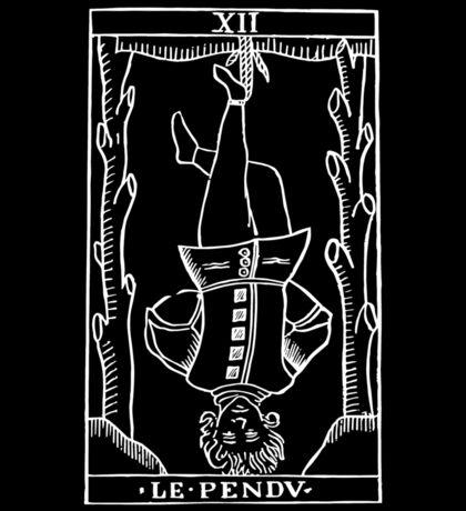 The Hanged Man in Reverse Sticker