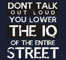 Sherlock - Don't Talk Out Loud... One Piece - Long Sleeve