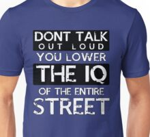 Sherlock - Don't Talk Out Loud... Unisex T-Shirt