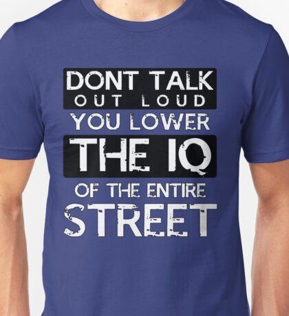 Sherlock - Don't Talk Out Loud... Unisex T-Shirt