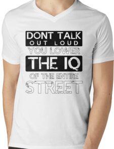 Sherlock - Don't Talk Out Loud... Mens V-Neck T-Shirt