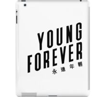 Young forever - BTS 190416 (WHITE) iPad Case/Skin