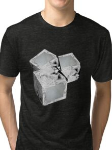 EMPTY THOUGHTS Tri-blend T-Shirt
