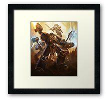 Warhammer 40k - Variant 4 Framed Print
