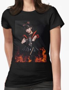 BABYMETAL - MOA RESISTANCE Womens Fitted T-Shirt