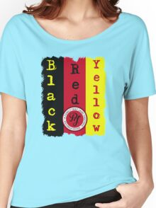 "Pearl Jam - Black, Red, Yellow ""Lyric inspired"" T Women's Relaxed Fit T-Shirt"