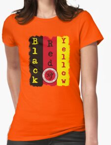 """Pearl Jam - Black, Red, Yellow """"Lyric inspired"""" T Womens Fitted T-Shirt"""