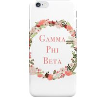 Gamma Phi Beta iPhone Case/Skin