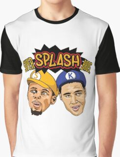 Steph Curry Klay Thompson Super Splash Bros Graphic T-Shirt