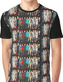Group Bowie Fashion Graphic T-Shirt