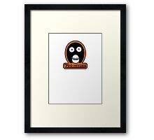 The Mighty Boosh Zooniverse Patch Framed Print