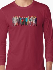 Group Bowie Fashion Long Sleeve T-Shirt