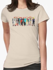 Group Bowie Fashion Womens Fitted T-Shirt