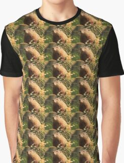 Close Encounter with a Groundhog Graphic T-Shirt