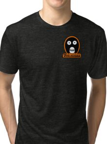 The Mighty Boosh Zooniverse Patch Tri-blend T-Shirt