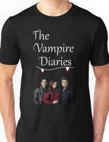 TVD - The Vampire Diaries - Elena, Damon and Stefan - (Designs4You) Unisex T-Shirt