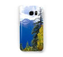 View at Stubai Alps in Tyrol Samsung Galaxy Case/Skin