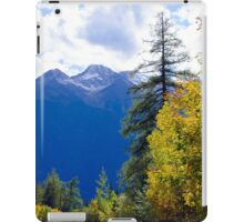 View at Stubai Alps in Tyrol iPad Case/Skin